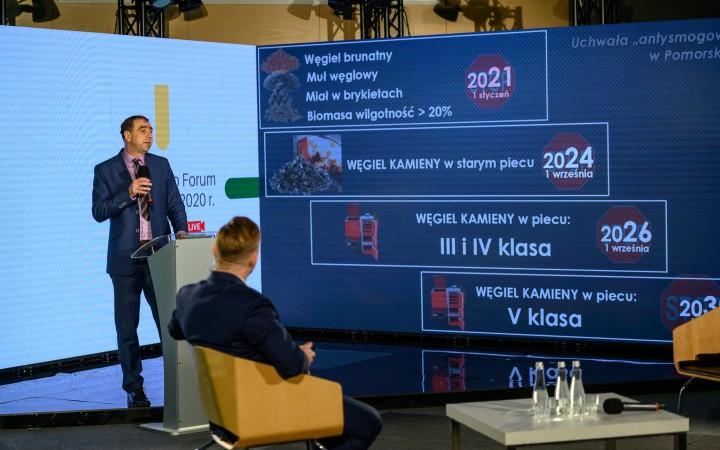 Pomorskie Eko Forum, 18 listopada 2020 || fot. Dawid Linkowski